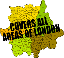 london removals covers all areas of london